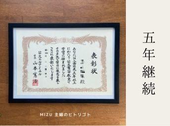 Kumon Award Certificate
